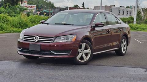 2012 Volkswagen Passat for sale at Speedy Automotive in Philadelphia PA