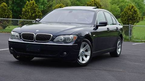 2006 BMW 7 Series for sale at Speedy Automotive in Philadelphia PA
