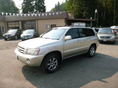2002 Toyota Highlander for sale in Rainier, OR