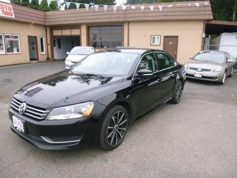 2012 Volkswagen Passat for sale in Rainier, OR