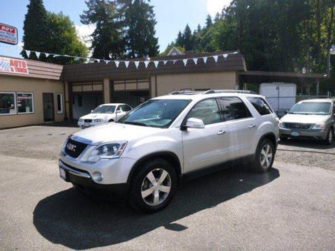 2011 GMC Acadia for sale in Rainier, OR