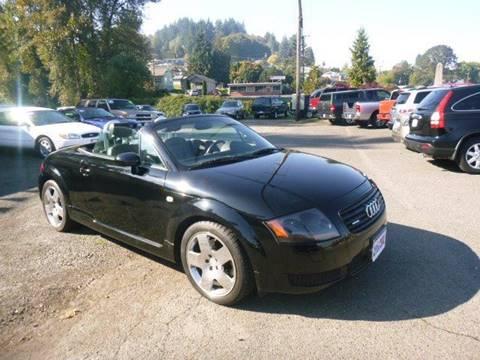 2001 Audi TT for sale in Rainier, OR