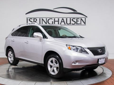 2010 Lexus RX 350 for sale in Springfield, IL