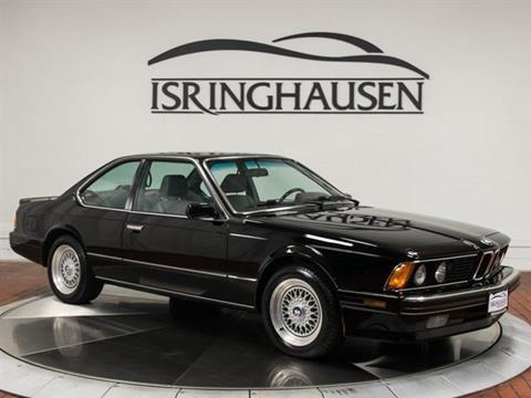 BMW M For Sale Carsforsalecom - 1988 bmw 6 series