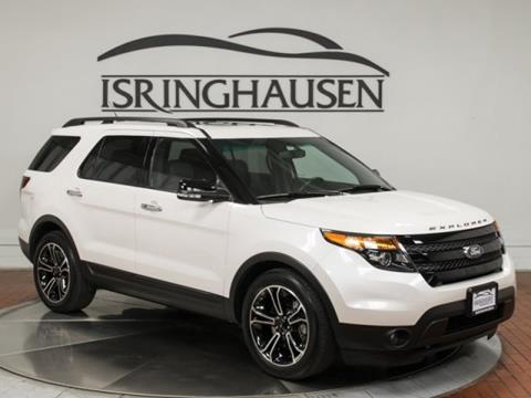 Ford explorer for sale in springfield il for Parkway motors inc springfield il
