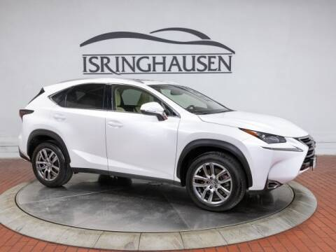 2015 Lexus NX 200t for sale at ISRINGHAUSEN IMPORTS in Springfield IL