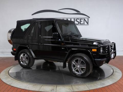 2000 Mercedes-Benz G 500 for sale at ISRINGHAUSEN IMPORTS in Springfield IL