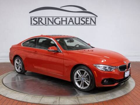 2017 BMW 4 Series 440i xDrive for sale at ISRINGHAUSEN IMPORTS in Springfield IL