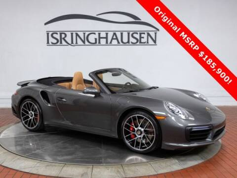 2019 Porsche 911 Turbo for sale at ISRINGHAUSEN IMPORTS in Springfield IL