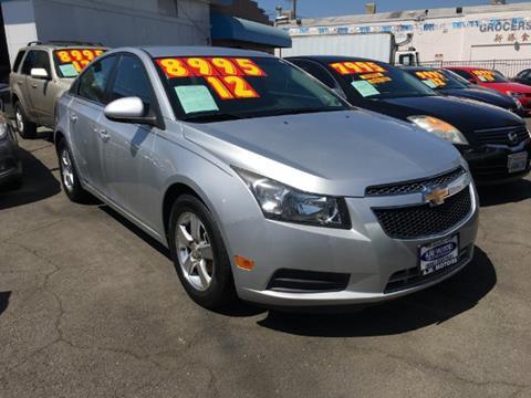 2012 Chevrolet Cruze for sale in South El Monte, CA
