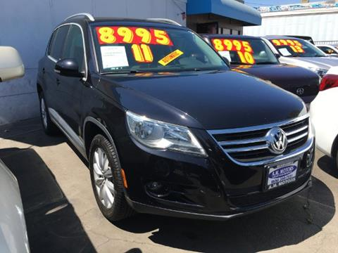 2011 Volkswagen Tiguan for sale in South El Monte, CA