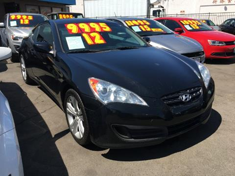 2012 Hyundai Genesis Coupe for sale in South El Monte, CA