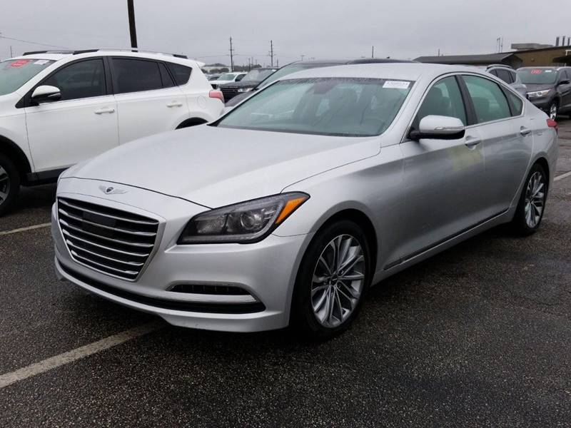 2017 Genesis G80 for sale at Watson Auto Group in Fort Worth TX
