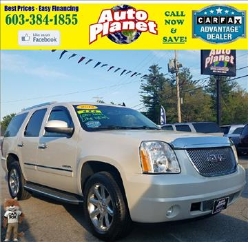 2012 GMC Yukon for sale at Auto Planet in Goffstown NH