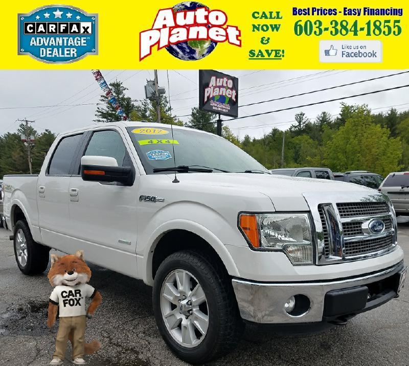 2012 Ford F-150 for sale at Auto Planet in Goffstown NH
