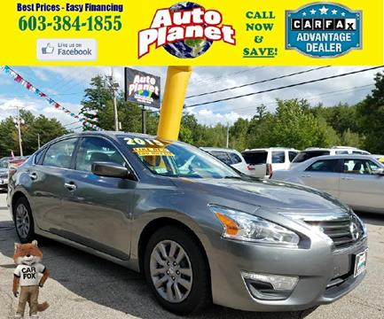 2015 Nissan Altima for sale in Goffstown, NH