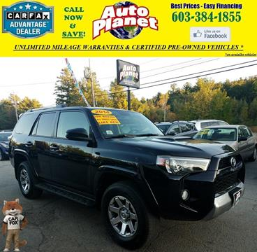 2014 Toyota 4Runner for sale in Goffstown, NH