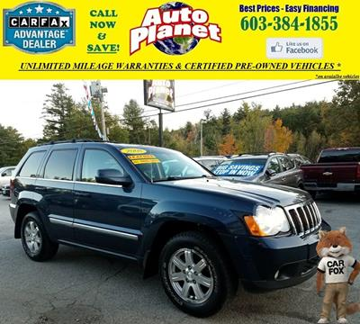 2008 Jeep Grand Cherokee for sale in Goffstown, NH