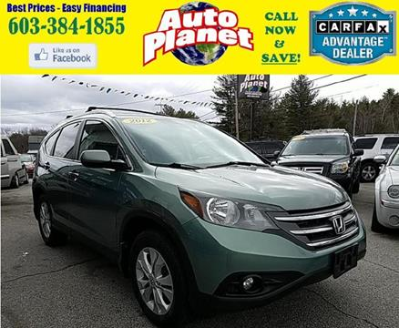 2012 Honda CR-V for sale at Auto Planet in Goffstown NH