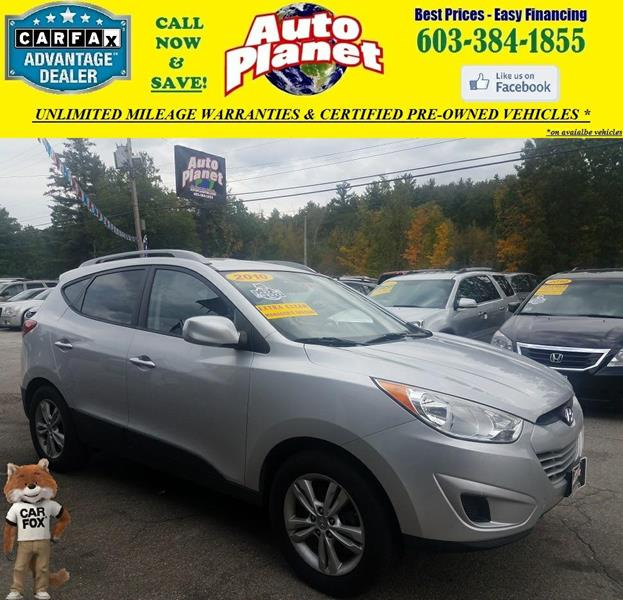 2010 Hyundai Tucson for sale at Auto Planet in Goffstown NH