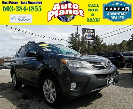 2013 Toyota RAV4 for sale at Auto Planet in Goffstown NH