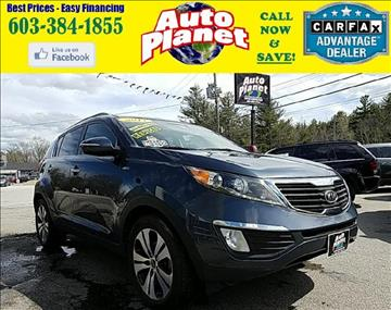 2011 Kia Sportage for sale at Auto Planet in Goffstown NH
