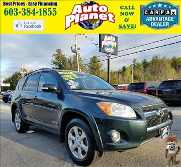 2011 Toyota RAV4 for sale at Auto Planet in Goffstown NH