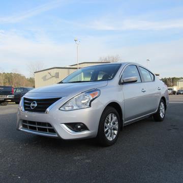 2017 Nissan Versa for sale in Cairo, GA
