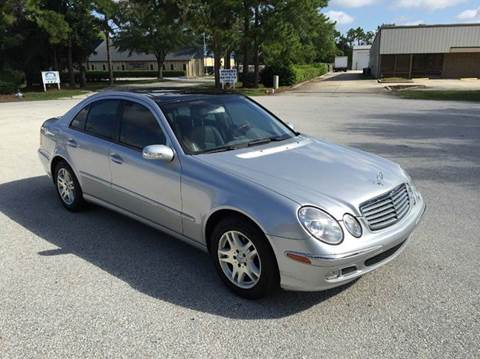 2003 Mercedes-Benz E-Class for sale at Global Auto Exchange in Longwood FL