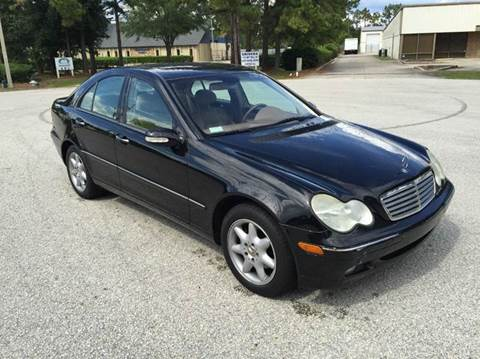 2003 Mercedes-Benz C-Class for sale at Global Auto Exchange in Longwood FL