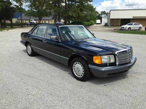 1990 Mercedes-Benz 420-Class for sale at Global Auto Exchange in Longwood FL