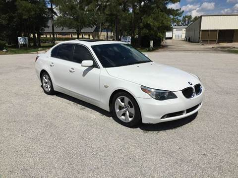 2007 BMW 5 Series for sale at Global Auto Exchange in Longwood FL