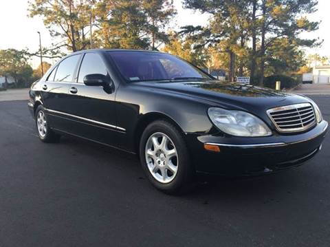 2001 Mercedes-Benz S-Class for sale at Global Auto Exchange in Longwood FL