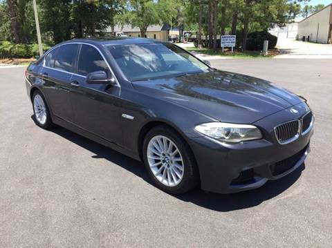 2011 BMW 5 Series for sale at Global Auto Exchange in Longwood FL