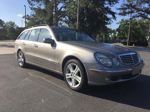 2004 Mercedes-Benz E-Class for sale at Global Auto Exchange in Longwood FL