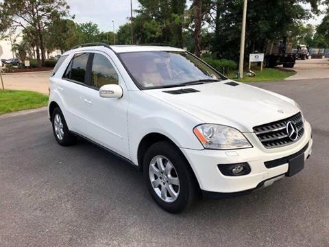2007 Mercedes-Benz M-Class for sale at Global Auto Exchange in Longwood FL