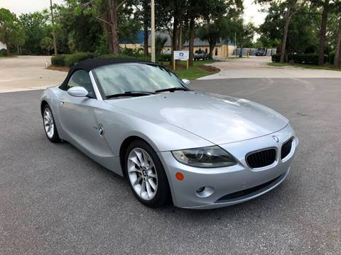 2005 BMW Z4 for sale at Global Auto Exchange in Longwood FL