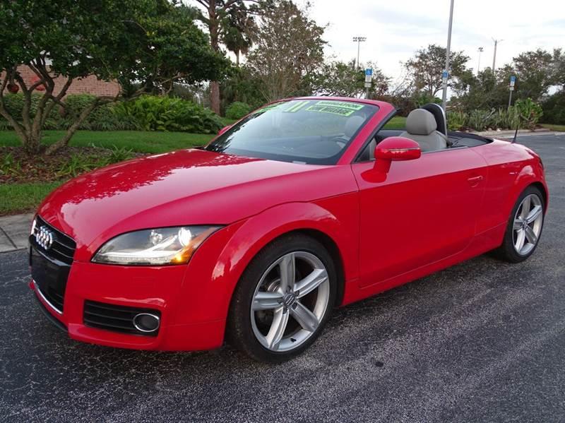2011 Audi TT 2.0T quattro Prestige AWD 2dr Convertible - New Smyrna Beach FL