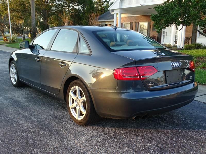 2009 Audi A4 AWD 2.0T quattro Premium 4dr Sedan 6A - New Smyrna Beach FL