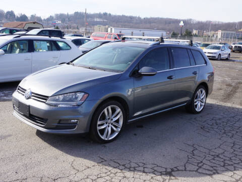 2015 Volkswagen Golf SportWagen for sale at Terrys Auto Sales in Somerset PA