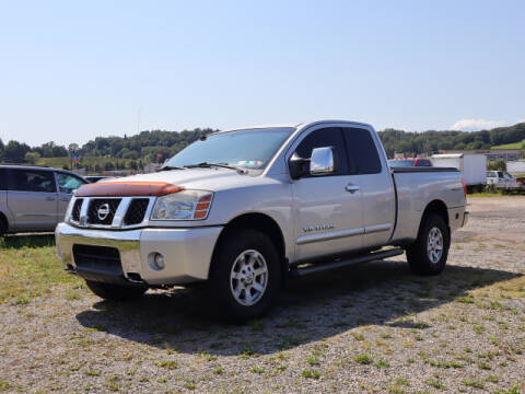 2005 Nissan Titan for sale at Terrys Auto Sales in Somerset PA