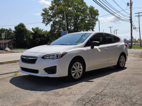 2017 Subaru Impreza for sale at Terrys Auto Sales in Somerset PA