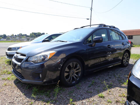 2012 Subaru Impreza for sale at Terrys Auto Sales in Somerset PA