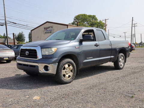 2008 Toyota Tundra for sale at Terrys Auto Sales in Somerset PA