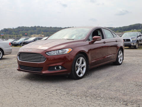 2015 Ford Fusion for sale at Terrys Auto Sales in Somerset PA