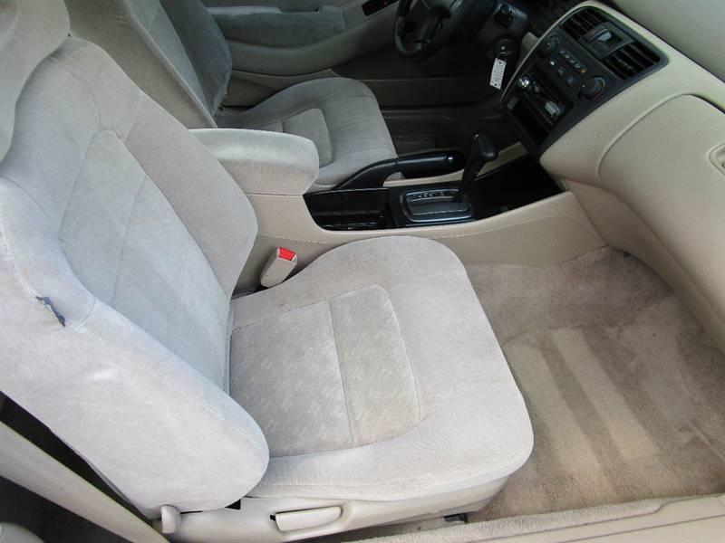 2001 Honda Accord LX V6 2dr Coupe - Arlington TX