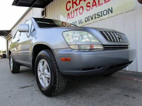 2002 Lexus RX 300 for sale in Arlington, TX