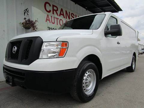 2013 Nissan NV Cargo for sale in Arlington, TX
