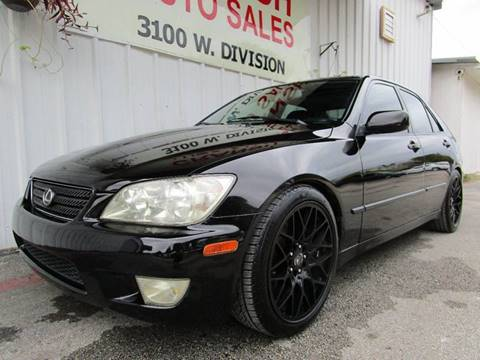 2002 Lexus IS 300 for sale in Arlington, TX