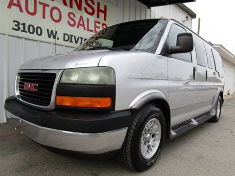 2003 GMC Savana Passenger For Sale In Arlington TX